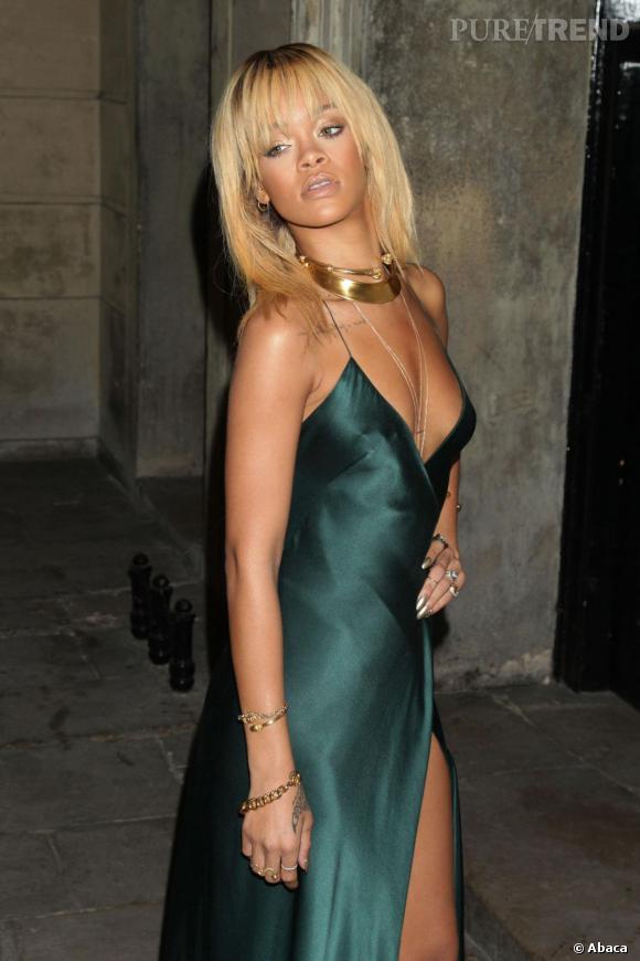 N°1 : Rihanna.