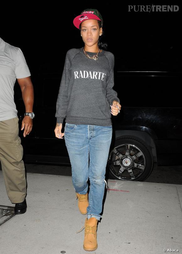 It shoes de Rihanna wanted : les bottes Timberland !