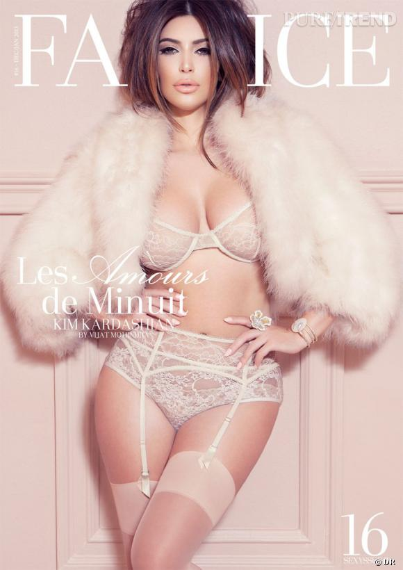 Kim Kardashian pour Factice