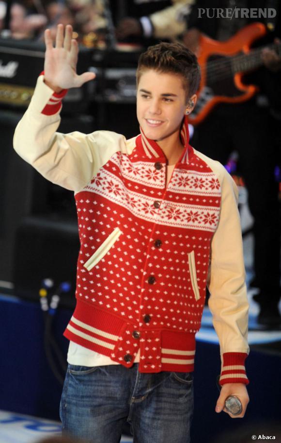 YO les mecs ! J'ai la classe avec mon teddy de Noël.
