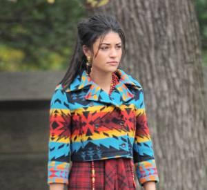 Vanessa, toujours aussi colorée.