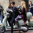 Quant à Serena, elle n'a pas peur des scooters !