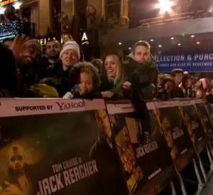 """Vidéo de l'avant-première mondiale de """"Jack Reacher"""" à Londres."""