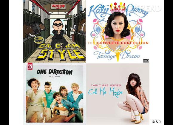 Katy Perry, Psy, Carly Rae Jepsen, One Direction : l'année 2012 en 10 chansons.