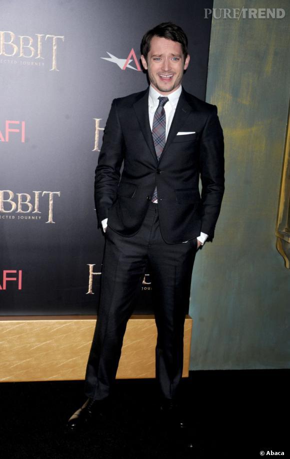 A bientôt 32 ans, Elijah Wood a bien changé. Du loser chétif il ne reste plus rien, l'acteur est un vrai dandy.