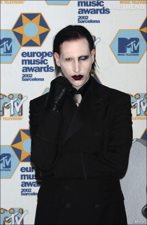 Marilyn Manson, le plus controversé des chanteurs fête ses quarante-cinq ans.