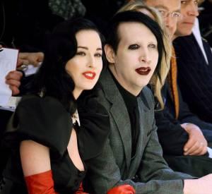 Marilyn Manson fréquentait les défilés haute couture du temps de son mariage avec Dita Von Teese.