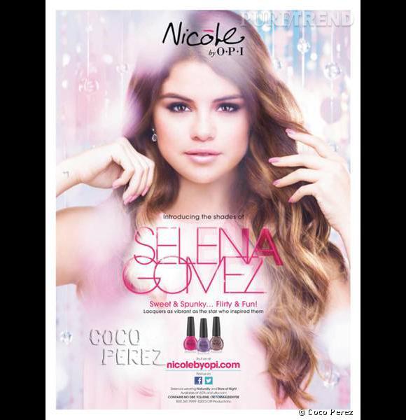 La campagne pour les vernis Selena Gomez et Nicole by O.P.I. enfin dévoilée.