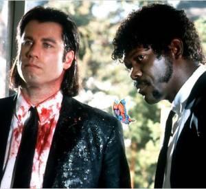 Dans Pulp Fiction, Vincent Vega, interpreté par John Travolta, opte pour un carré tiré en arrière digne des meilleurs hommes de mains et Samuel L. Jackson, aka Jules Winnfield, préfère quant à lui de jolies rouflaquettes, une barbe taillée et une afro.