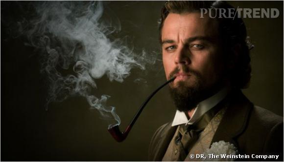 Leonardo DiCaprio joue le rôle de Calvin Candie dans le nouveau film de Tarantino, Django Unchained. Sa coupe gominée et sa barbe pointue s'annonce déjà comme un élément de style important.
