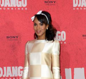 Kerry Washington vs Jessica Alba : la robe echiquier Louis Vuitton
