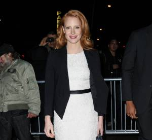 Jessica Chastain, chic et choc new-yorkais... A shopper !