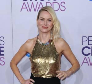 Naomi Watts vs Robin Wright : la robe dos nu bicolore