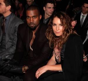 Kanye West et Noomi Rapace chez Givenchy.