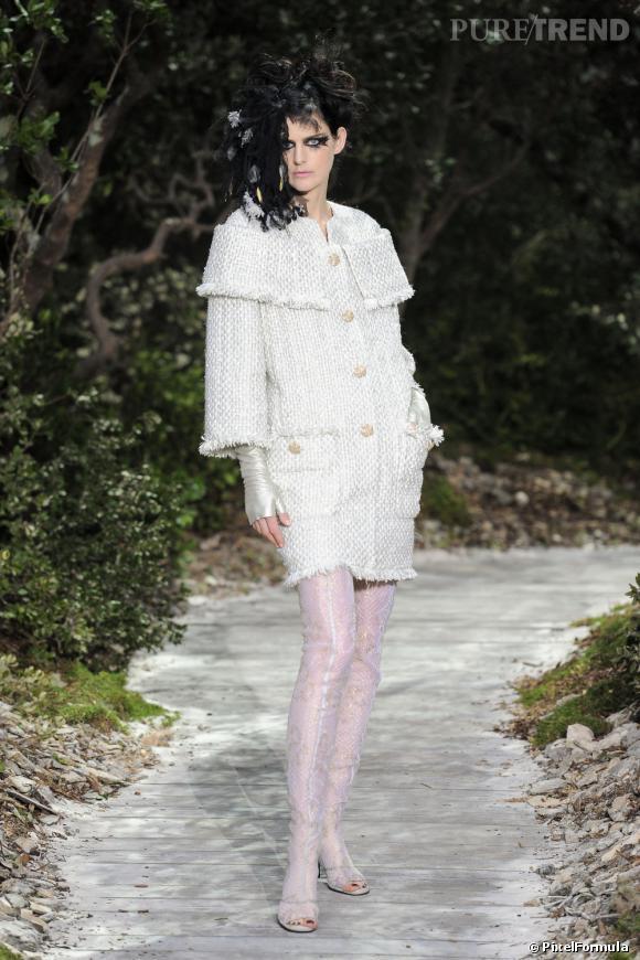 Défilé Chanel CoutureParis Printemps-Eté 2013