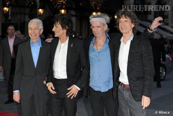 """Les Rolling Stones sont nominés dans les catégories Meilleur groupe Live"""", """"Meilleure musique de film"""", """"Meilleur moment musical de l'année""""."""