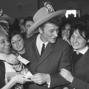Johnny Hallyday, le mythe en plein come-back.