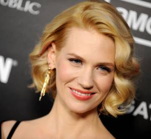 January Jones, bientot chauve ?!