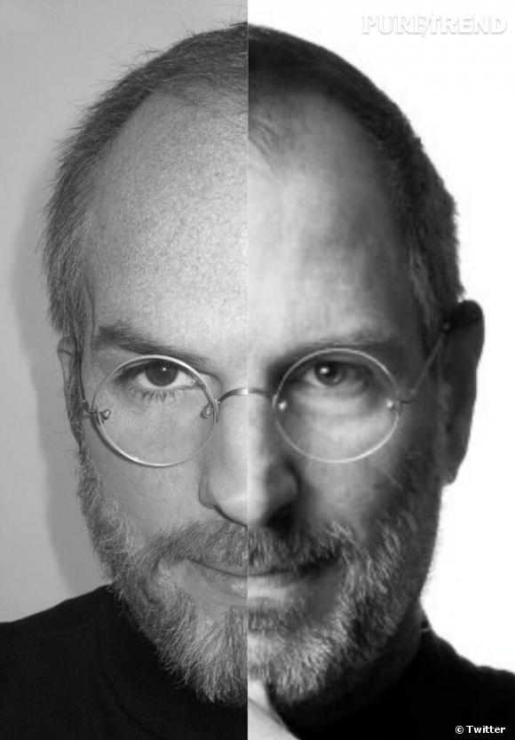 Ashton Kutcher a dévoilé sur son Twitter une photo qui montre son étonnante ressemblance avec Steve Jobs.