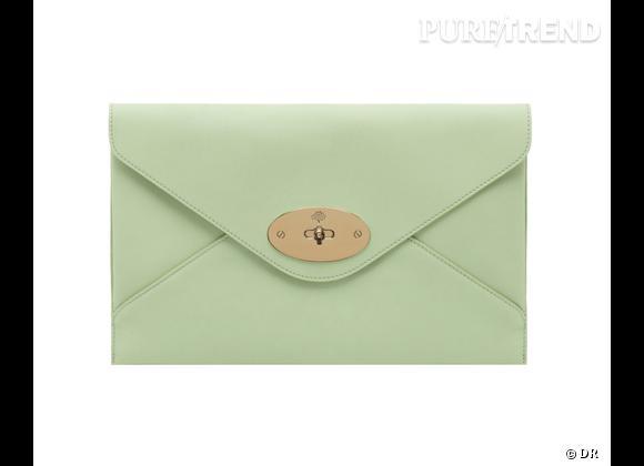 Must have : Willow, le nouveau it-bag Mulberry    Modèle Willow Clutch Classic Mint