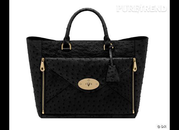Must have : Willow, le nouveau it-bag Mulberry    Modèle Willow Tote Black
