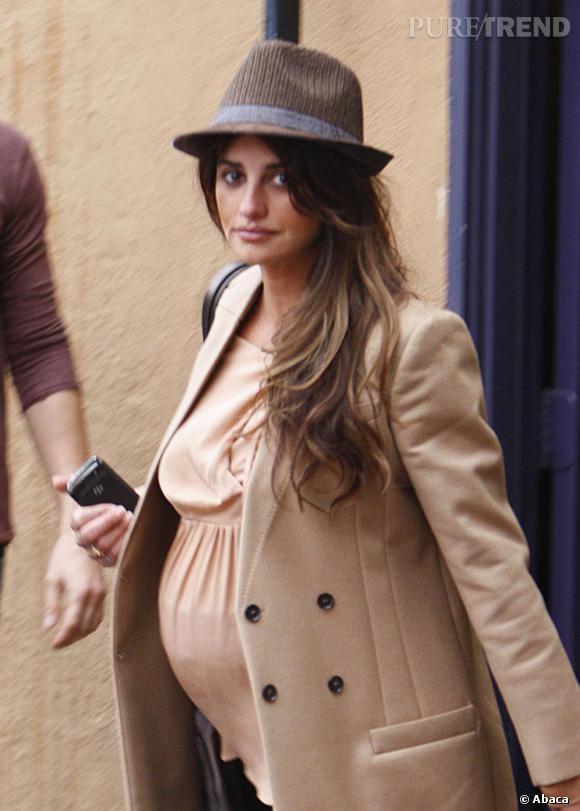 Penelope Cruz est enceinte de son deuxième enfant (ici, lors de sa première grossesse fin 2010)