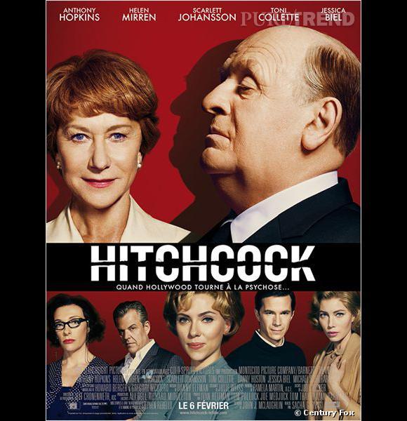 """""""Hitchcock"""", au cinéma le 6 février."""