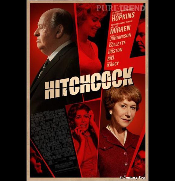 """Hitchcock"" avec Anthony Hopkins, Helen Mirren et Scarlett Johansson."