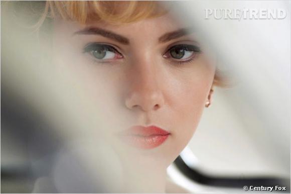 """""""Hitchcock"""" : Scarlett Johansson dans le rôle de Janet Leigh."""
