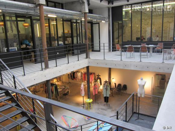 Le showroom American Retro à Paris