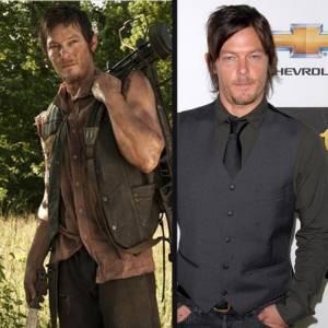 Norman Reedus joue Daryl, un homme musclé et tireur à l'arbalète. Un redoutable chasseur de zombies.