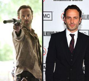 """Dans """"The Walking Dead"""", Andrew Lincoln est Rick, le shérif et leader du groupe..."""