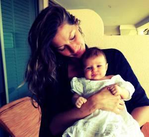 Gisele Bundchen : la 1ere photo de son adorable petite Vivian