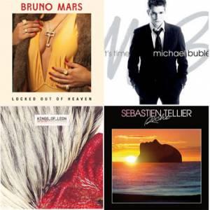 Bruno Mars, Michael Bublé, Kings of Leon, Sebastien Tellier : la playslist Puretrend pour la Saint Valentin.