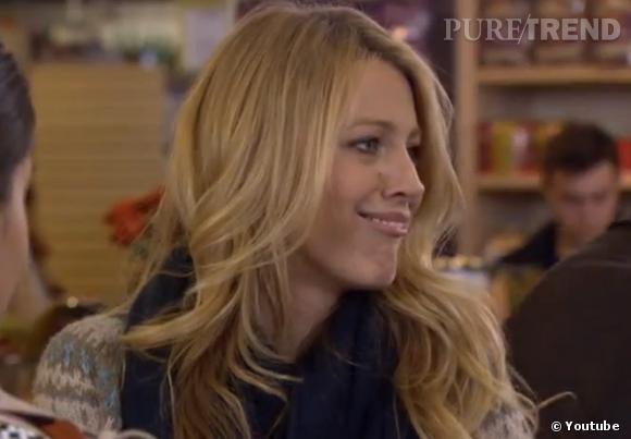 Blake Lively nous régale de quelques grimaces dans le bêtisier de la saison 6 de Gossip Girl.