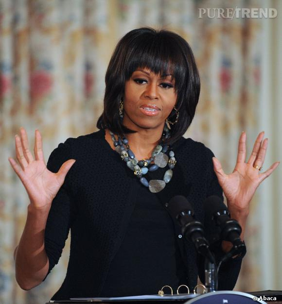 """La france de Michelle Obama ? """"C'est ma crise de la cinquantaine"""", explique la first lady."""