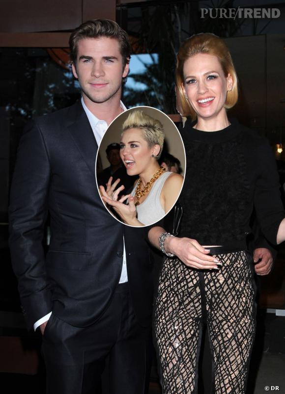 Liam Hemsworth a,t,il trompé Miley Cyrus avec January Jones ?