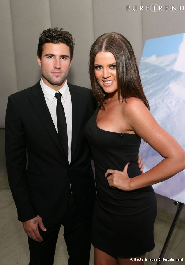 brody jenner and kim kardashian Photo