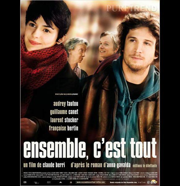 """Décidemment, on l'adore dans les films romantiques ! Avec son rôle de cuisinier faussement bourru dans """"Ensemble c'est tout"""", Guillaume Canet nous charme."""