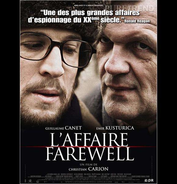 """Enfin, Guillaume Canet nous tient en haleine dans """"L'Affaire Farewell""""..."""