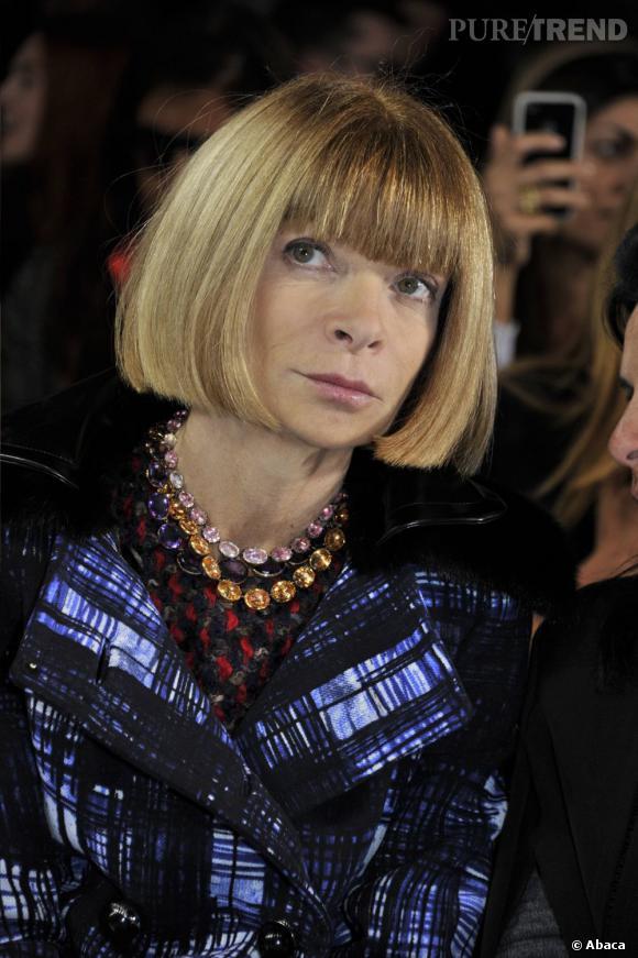 Anna Wintour vient d'être nommée Directrice Artistique du groupe Condé Nast.