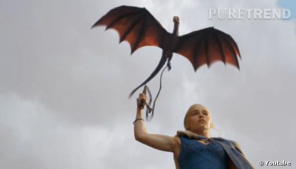 """La saison 3 de """"Game of Thrones"""" s'annonce forte en émotions. Il suffit de voir le dragon de Daenerys Targaryen..."""