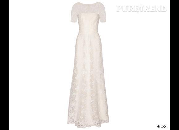 Les robes de mariée de créateur exclusives Net-a-porter.com     Robe de mariée Issa, 3200 €