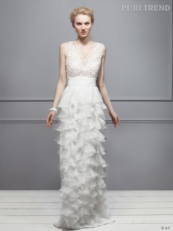 Les robes de mariée de créateur exclusives Net-a-porter.com : Giambattista Valli