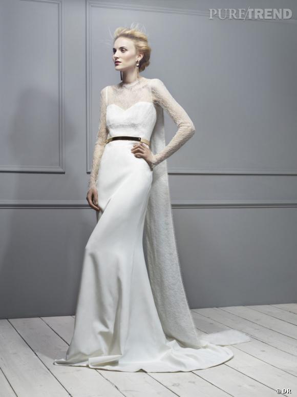 Les robes de mariée de créateur exclusives Net-a-porter.com : Antonio Berardi