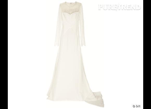 Les robes de mariée de créateur exclusives Net-a-porter.com      Robe de mariée Antonio Berardi, 8492 €