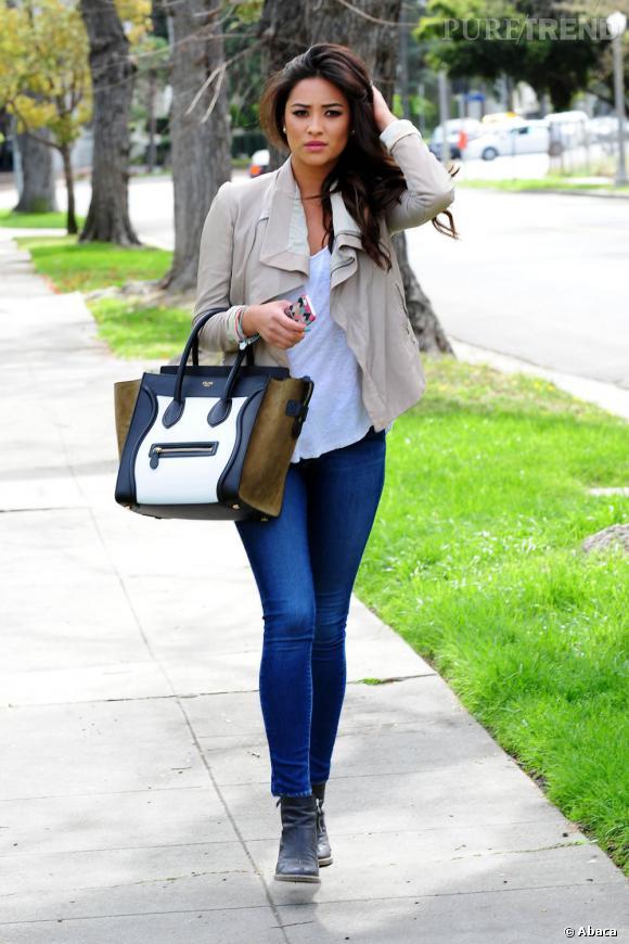 Shay Mitchell, on adore son sac Celine.