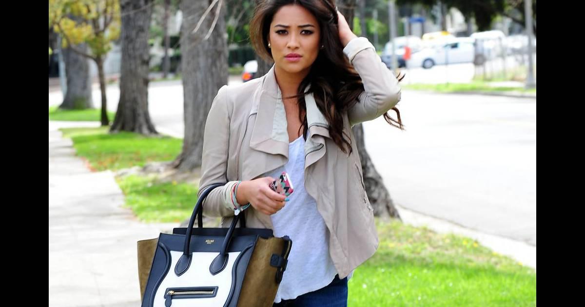 Celine Puretrend Bag We Love Her Shay Mitchell wx0q41CCS