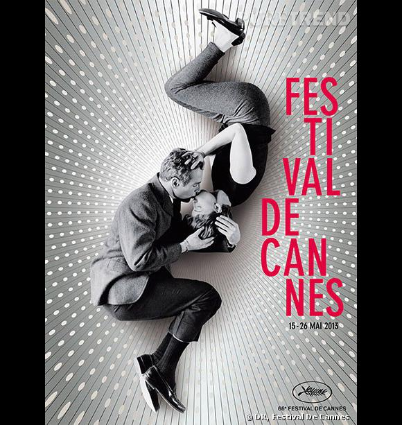 L'affiche du 66ème Festival de Cannes avec Paul Newman et Joanne Woodward.