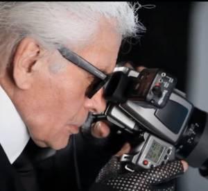 Making-of du shooting Melissa x Karl Lagerfeld avec Cara Delevingne.